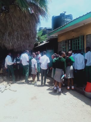 Lunch Hour time - Secondary Students