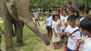 Inspiring young Cambodians to protect wildlife