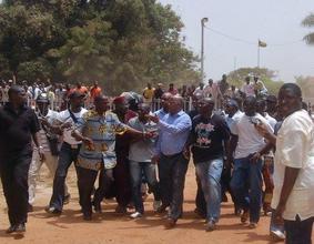 Guinea-Bissau PM Released; Photo credit UNOGBIS