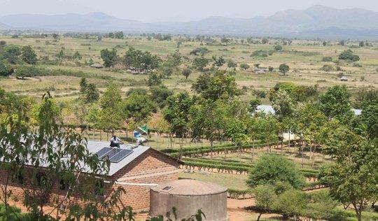 Location of Tegaruka Secondary School