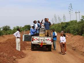 TanzSolar Team on the road
