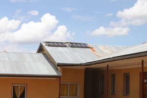 Solar panels at Chief Wanzagi Girls School