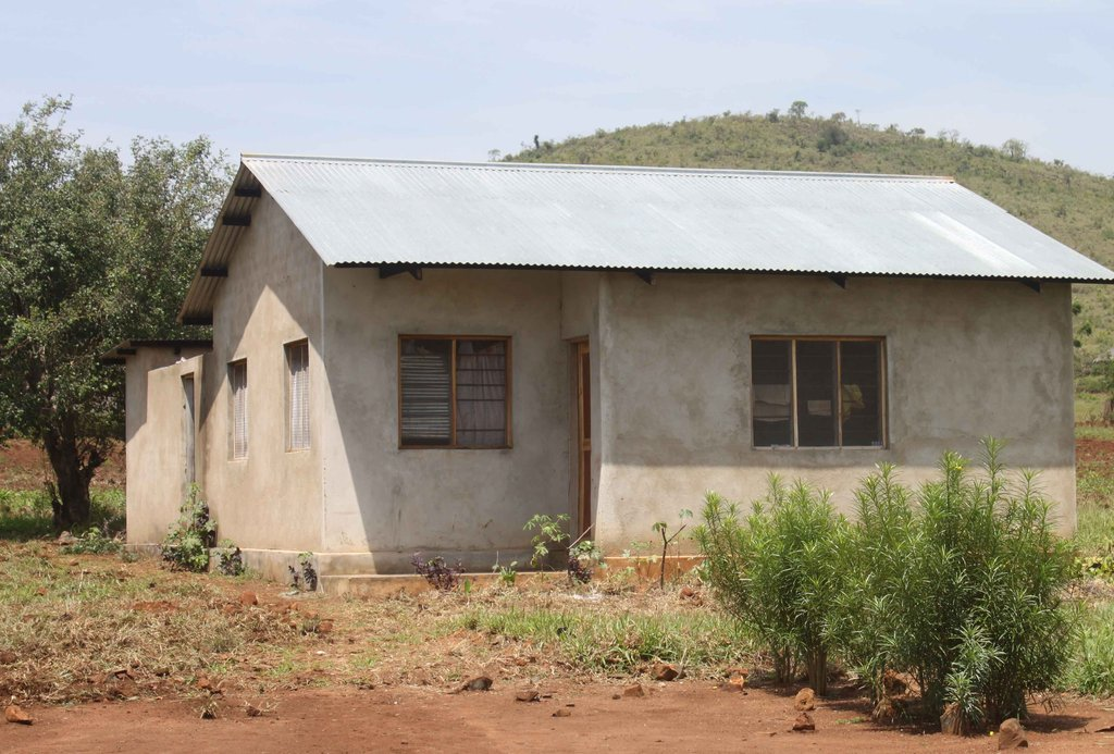 Secondary school teachers home with no electricity