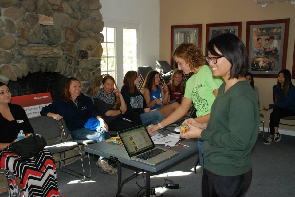 MVHS recycling program student-led presentation