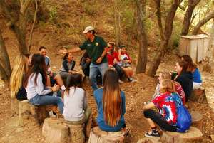 Outdoor teaching lab