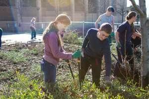 Students replant at Brea Olinda High School