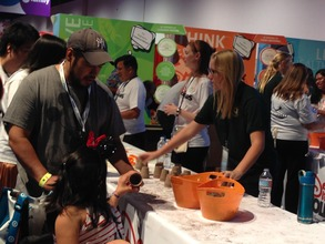 D23 Expo visitors volunteer to support students