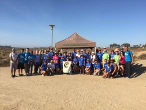 Mayor, Diane Brooks Dixon & Boeing Volunteers
