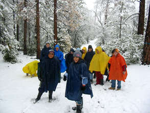 Students at Outdoor Science School