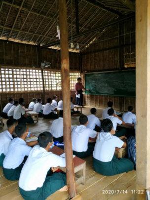Smaller classes in the school