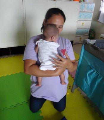Share love to children like her