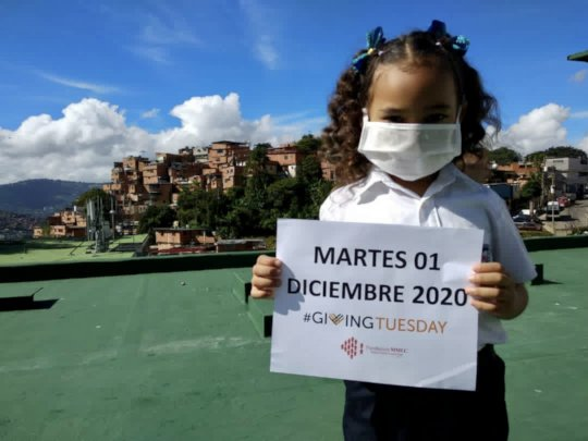 Student inviting you to Giving Tuesday celebration