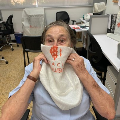 Founder Maria Luisa Casar- Use Face Mask- StaySafe