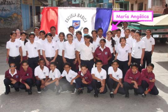 6th grade class (2011) - School / Petare Street