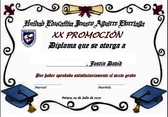 Virtual certification - Promotion XX