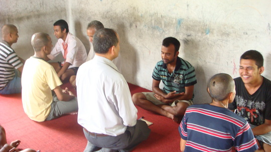 Japha training deep listening