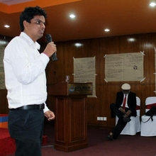 Deepak Speaking at Youth Conference