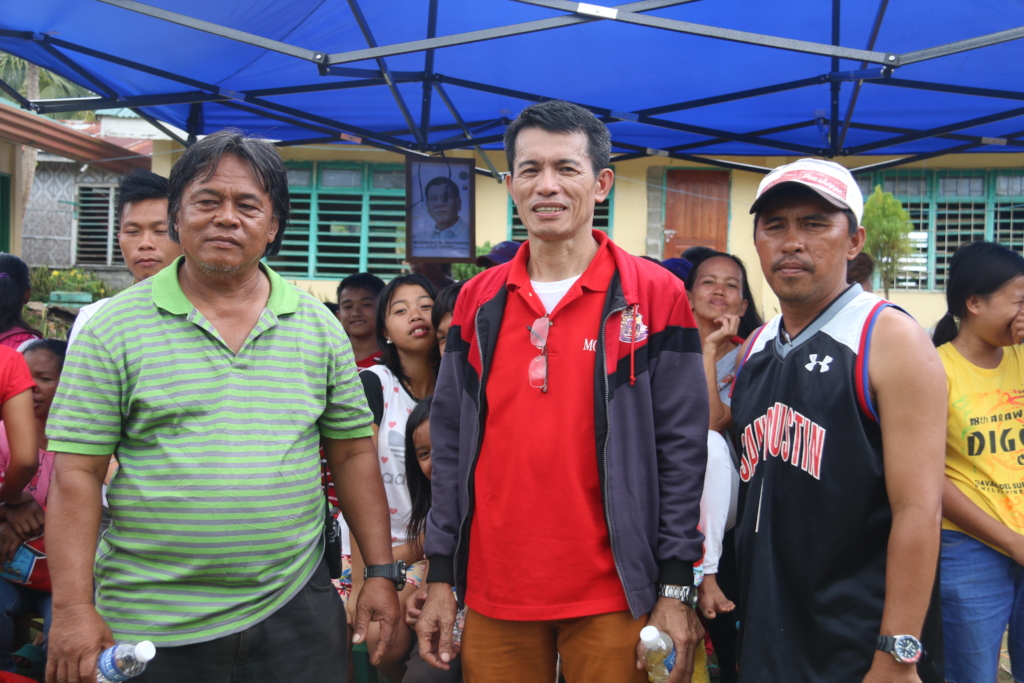 CJFI Project and barangay leaders of the area