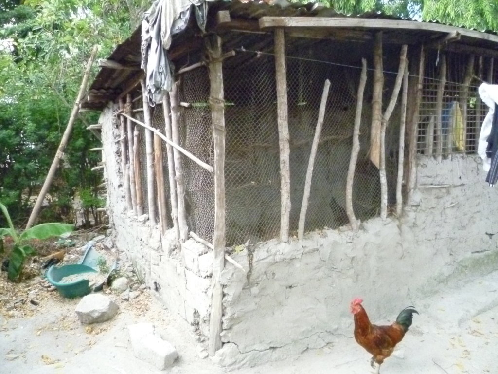 A family House in one of the outskirts of Kibaha.