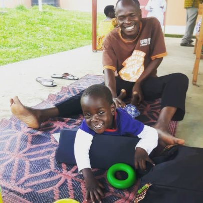 Physiotherapy in the grounds of the health centre