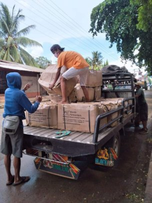 AAI donations arrive into the Philippines