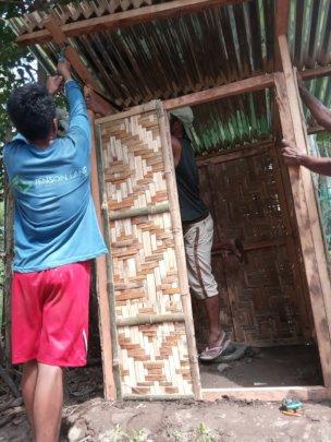 building latrines