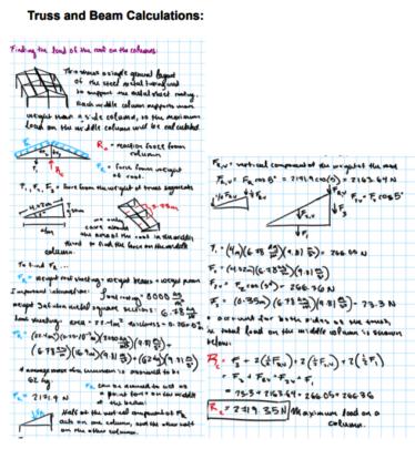 Column Calculations