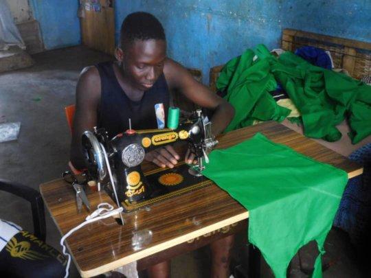 Adama sewing uniforms