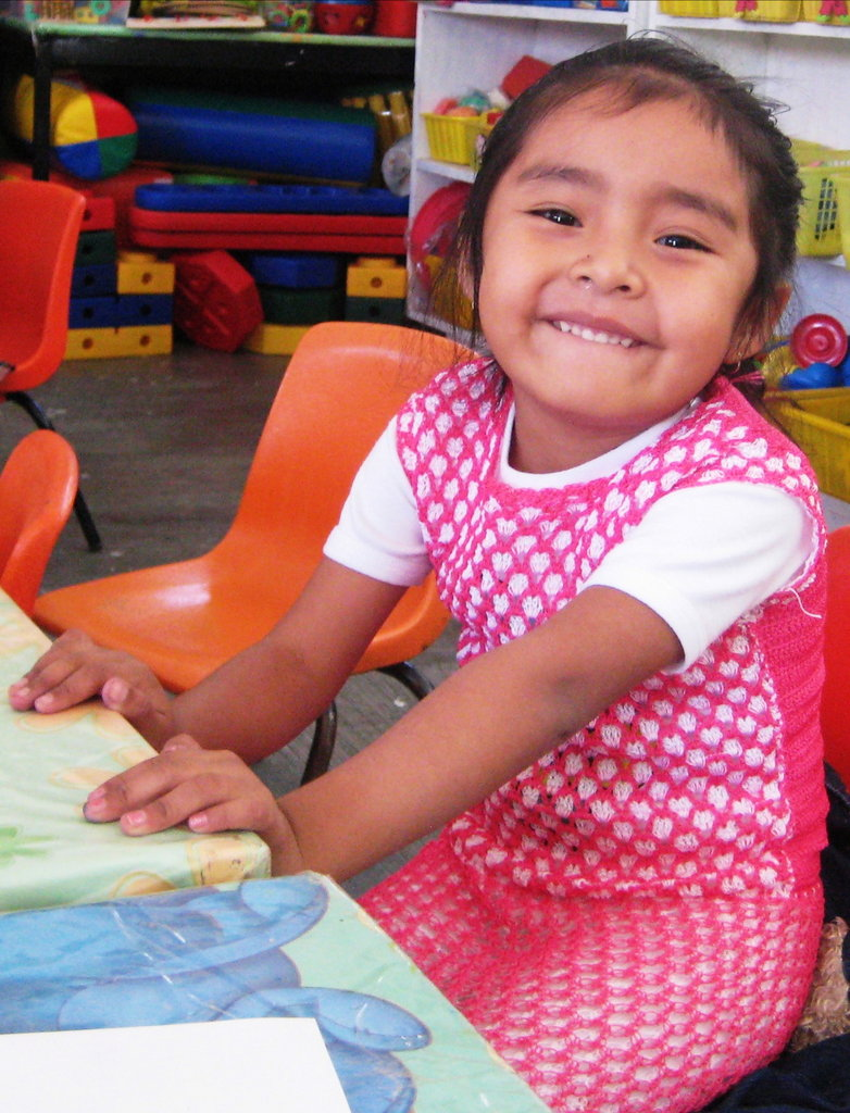 "We love smiles at the ""I want to, I can"" Center."