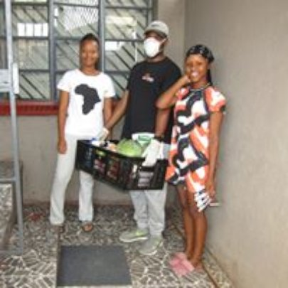Delivering in Alex to a vulnerable family