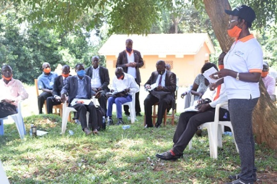 Meeting traditional cultural & religious leaders