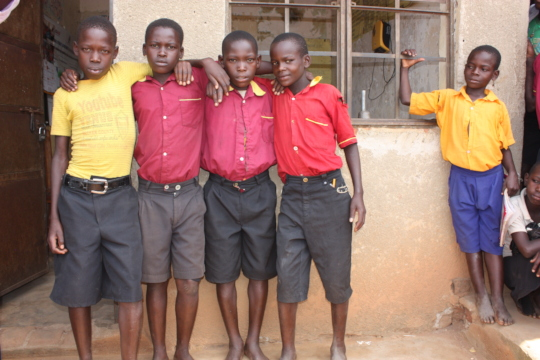 Boys ready to become change agents
