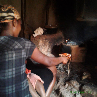 Improved cookstove in the kitchen in Madagascar