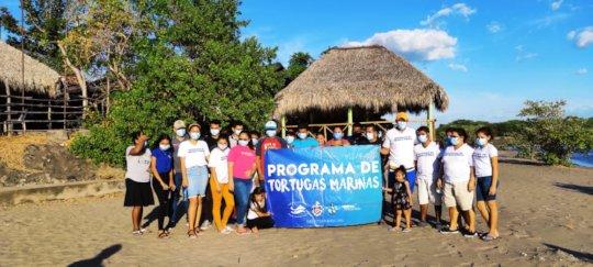 Visit to the Isla Juan Venado sea turtle program