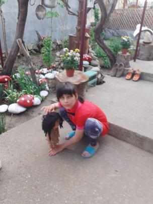 A teacher visit to Gabi's home