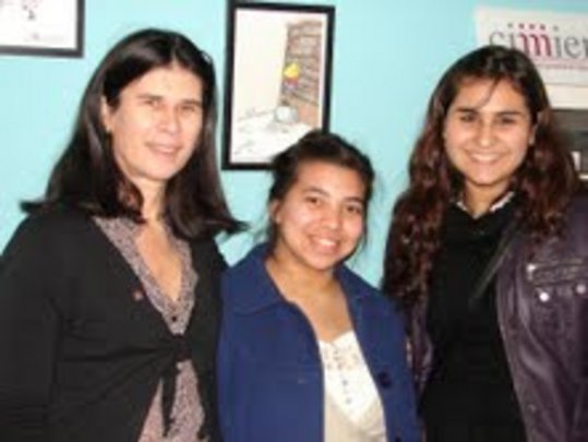 Jennifer(right) w/ Daiana & our Executive Director