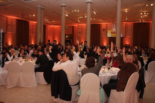 Cimientos XIV Annual Fundraising dinner 2014