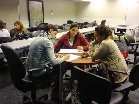 Job search workshop held with Accenture and AMIA