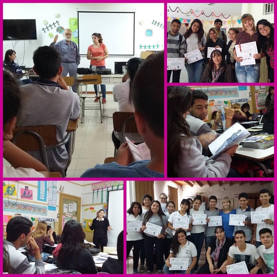 Training workshops in San Nicolas and Ramallo