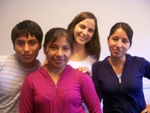 Scholarship Candidates at the Universidad Católica