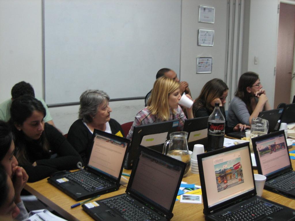 Mentors & Graduate - inicial meeting at Cimientos
