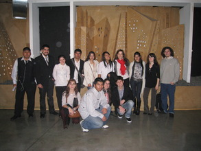 Graduates at International Young Leaders Summit