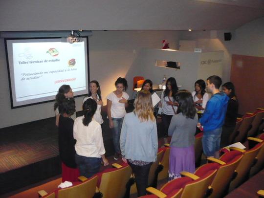 Group activity at Studying technics talk