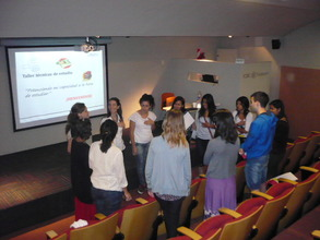 Group activity at Studying technics talk