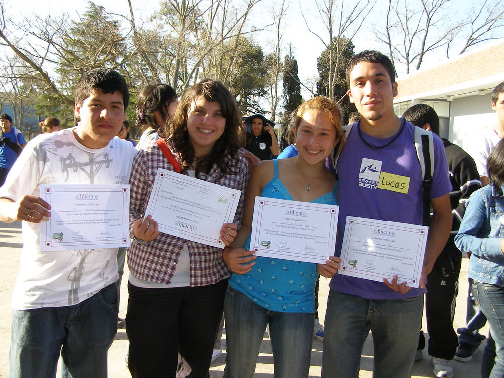 Lucas and other program graduates