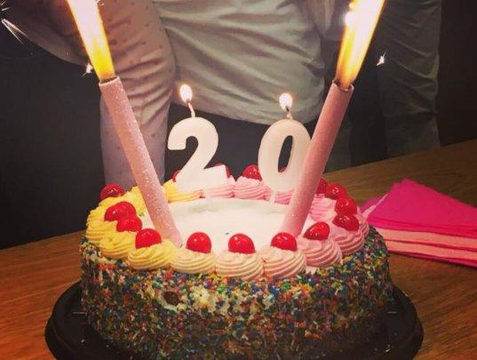 Wishing us a Happy Birthday :)