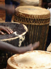 Drumming - Leaf Intore Troupe