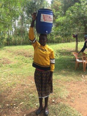 Distributing Hand Washing Tools