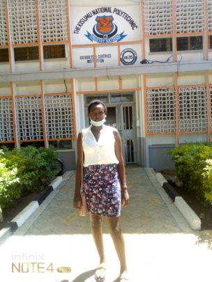 Juliet, one of our Young Legends back at school