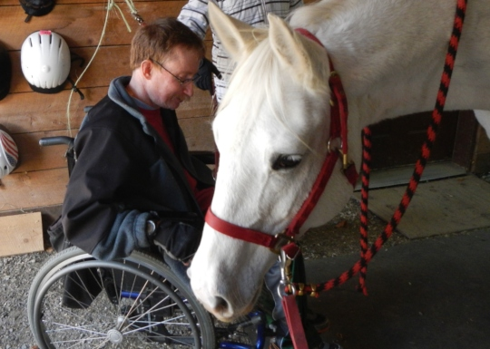 From wheelchair to Saddle-Ride UP program for Vets